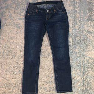 Gap maternity skinny jeans size 0